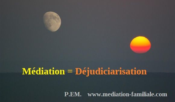Médiation Déjudiciarisation
